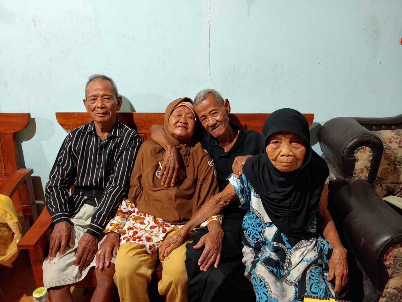 Silaturahmi dengan Saudara dari Merauke Papua di Sumberlawang Sragen
